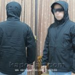 Jaket TAD hitam made in USA